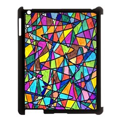 Pattern 13 Apple Ipad 3/4 Case (black) by ArtworkByPatrick