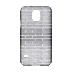 Brick1 White Marble & Silver Brushed Metal Samsung Galaxy S5 Hardshell Case