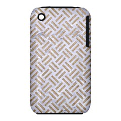 Woven2 White Marble & Sand (r) Iphone 3s/3gs by trendistuff