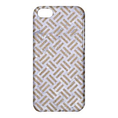 Woven2 White Marble & Sand (r) Apple Iphone 5c Hardshell Case by trendistuff