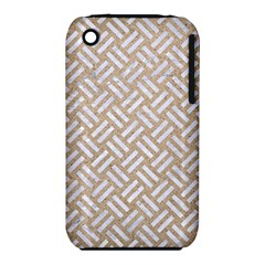 Woven2 White Marble & Sand Iphone 3s/3gs by trendistuff