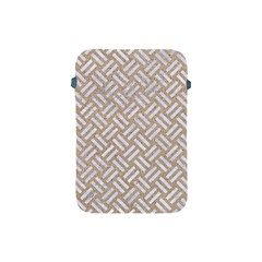 Woven2 White Marble & Sand Apple Ipad Mini Protective Soft Cases by trendistuff