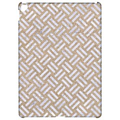 Woven2 White Marble & Sand Apple Ipad Pro 12 9   Hardshell Case by trendistuff