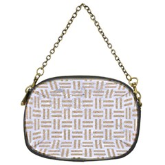 Woven1 White Marble & Sand (r)woven1 White Marble & Sand (r) Chain Purses (one Side)  by trendistuff