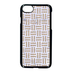 Woven1 White Marble & Sand (r)woven1 White Marble & Sand (r) Apple Iphone 7 Seamless Case (black) by trendistuff