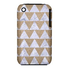 Triangle2 White Marble & Sand Iphone 3s/3gs by trendistuff