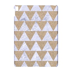 Triangle2 White Marble & Sand Apple Ipad Pro 10 5   Hardshell Case by trendistuff