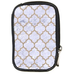 Tile1 White Marble & Sand (r) Compact Camera Cases by trendistuff