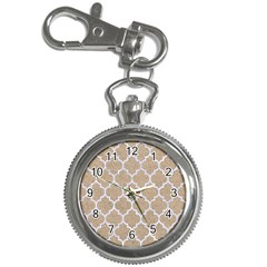 Tile1 White Marble & Sand Key Chain Watches by trendistuff