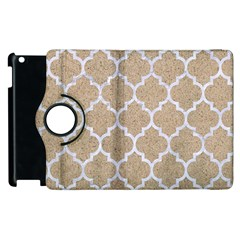 Tile1 White Marble & Sand Apple Ipad 3/4 Flip 360 Case by trendistuff