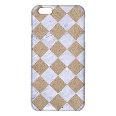 Square2 White Marble & Sand Iphone 6 Plus/6s Plus Tpu Case by trendistuff