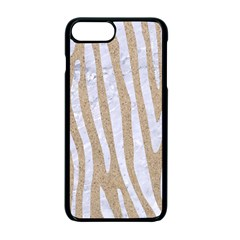 Skin4 White Marble & Sand (r) Apple Iphone 7 Plus Seamless Case (black) by trendistuff