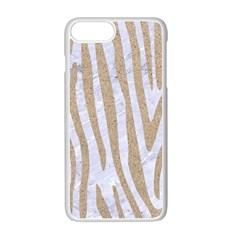 Skin4 White Marble & Sand Apple Iphone 7 Plus Seamless Case (white)