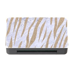 Skin3 White Marble & Sand (r) Memory Card Reader With Cf by trendistuff