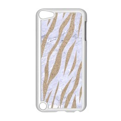 Skin3 White Marble & Sand (r) Apple Ipod Touch 5 Case (white) by trendistuff