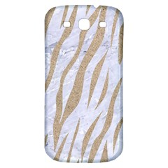 Skin3 White Marble & Sand (r) Samsung Galaxy S3 S Iii Classic Hardshell Back Case by trendistuff