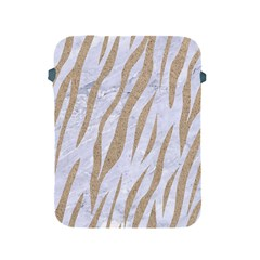 Skin3 White Marble & Sand (r) Apple Ipad 2/3/4 Protective Soft Cases by trendistuff