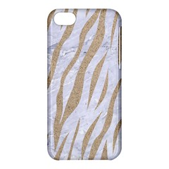 Skin3 White Marble & Sand (r) Apple Iphone 5c Hardshell Case by trendistuff
