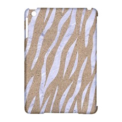 Skin3 White Marble & Sand Apple Ipad Mini Hardshell Case (compatible With Smart Cover) by trendistuff