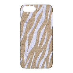 Skin3 White Marble & Sand Apple Iphone 8 Plus Hardshell Case by trendistuff