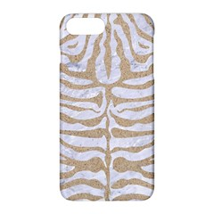 Skin2 White Marble & Sand (r) Apple Iphone 8 Plus Hardshell Case by trendistuff