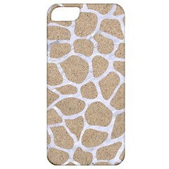 Skin1 White Marble & Sand (r) Apple Iphone 5 Classic Hardshell Case by trendistuff