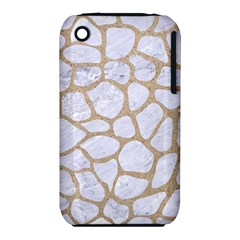 Skin1 White Marble & Sand Iphone 3s/3gs by trendistuff