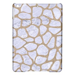 Skin1 White Marble & Sand Ipad Air Hardshell Cases by trendistuff