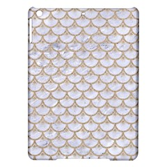 Scales3 White Marble & Sand (r) Ipad Air Hardshell Cases
