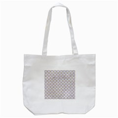 Scales3 White Marble & Sand (r) Tote Bag (white) by trendistuff