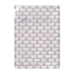 Scales3 White Marble & Sand (r) Apple Ipad Pro 10 5   Hardshell Case by trendistuff
