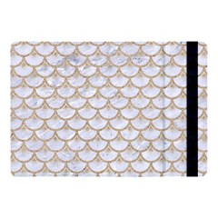 Scales3 White Marble & Sand (r) Apple Ipad Pro 10 5   Flip Case by trendistuff