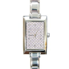 Scales2 White Marble & Sand (r) Rectangle Italian Charm Watch by trendistuff