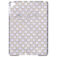 Scales2 White Marble & Sand (r) Apple Ipad Pro 9 7   Hardshell Case by trendistuff