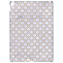 Scales2 White Marble & Sand (r) Apple Ipad Pro 12 9   Hardshell Case by trendistuff
