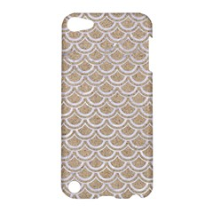 Scales2 White Marble & Sand Apple Ipod Touch 5 Hardshell Case by trendistuff