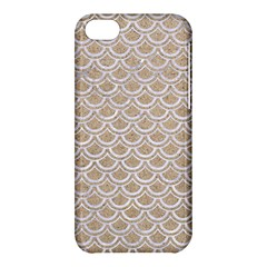 Scales2 White Marble & Sand Apple Iphone 5c Hardshell Case by trendistuff