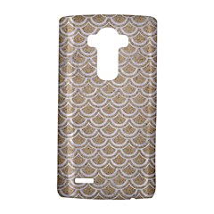 Scales2 White Marble & Sand Lg G4 Hardshell Case by trendistuff