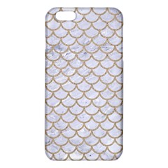 Scales1 White Marble & Sand (r) Iphone 6 Plus/6s Plus Tpu Case by trendistuff