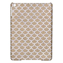 Scales1 White Marble & Sand Ipad Air Hardshell Cases