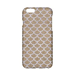 Scales1 White Marble & Sand Apple Iphone 6/6s Hardshell Case by trendistuff