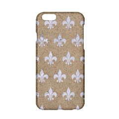 Royal1 White Marble & Sand (r) Apple Iphone 6/6s Hardshell Case by trendistuff