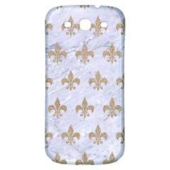 Royal1 White Marble & Sand Samsung Galaxy S3 S Iii Classic Hardshell Back Case by trendistuff
