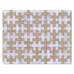 Puzzle1 White Marble & Sand Rectangular Jigsaw Puzzl by trendistuff