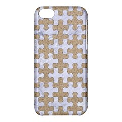 Puzzle1 White Marble & Sand Apple Iphone 5c Hardshell Case by trendistuff