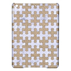 Puzzle1 White Marble & Sand Ipad Air Hardshell Cases by trendistuff