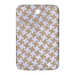 Houndstooth2 White Marble & Sand Samsung Galaxy Note 8 0 N5100 Hardshell Case  by trendistuff