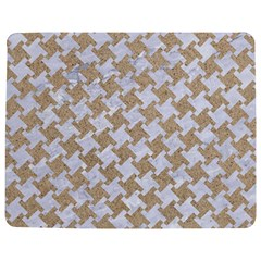 Houndstooth2 White Marble & Sand Jigsaw Puzzle Photo Stand (rectangular) by trendistuff