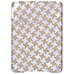 Houndstooth2 White Marble & Sand Apple Ipad Pro 9 7   Hardshell Case by trendistuff