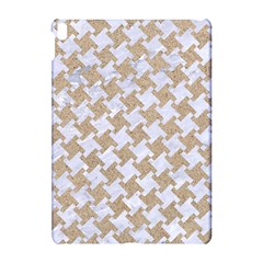 Houndstooth2 White Marble & Sand Apple Ipad Pro 10 5   Hardshell Case by trendistuff